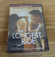 The Longest Ride ~ Nicholas Sparks NEW/SEALED DVD
