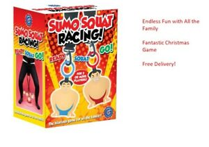 SUMO SQUAT RACING Game Perfect For Christmas or Working Out No Gym Required!