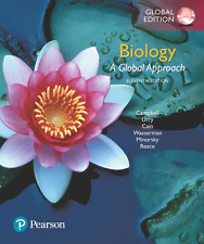 NEW - BOOK ONLY. NO CODE. - Biology : A Global Approach by Campbell (11 Ed)