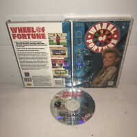 VGC Wheel of Fortune Sega CD Complete CIB Vanna White TESTED Game Show Puzzle