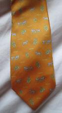 AUTHENTIQUE cravate cravatte  KRIZIA   100% soie  TBEG  vintage