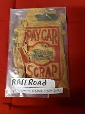 1910 Paycar Scrap Chewing Tobacco Packaging