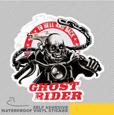 Ghost Rider Ventana Pegatina Calcomanía Vinilo Coche Furgoneta Bici 2679