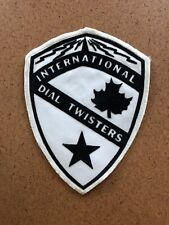 LARGE Back Patch CB Radio International Dial Twisters Club Electric Tower