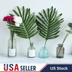 Vivid Artificial Tropical-Palm Leaves Fake Plant Home Office Party Decoration