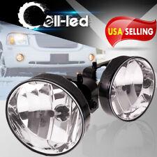 For 02-08 Gmc Envoy Denali Sle Slt Xl Xuv Front Driving Bumper Clear Fog Light (Fits: More than one vehicle)