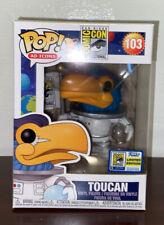 2020 Funko Pop Ad Icons Toucan 103 Sdcc Comic con International Exclusive