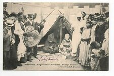 Marseille colonial expo exhibition morocco a moroccan wedding tent drum