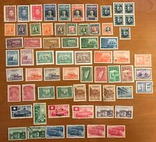 1920-1949 Republic of China 66 Stamps MINT USED HINGED VERY FINE