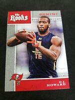 2017 Panini The Rooks Tampa Bay Buccaneers Football Card #6 O.J. Howard
