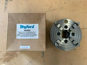 Myford Bison 4 jaw independent lathe chuck 150mm M42.5 x 2mm big bore 40/092