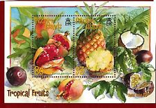 2001 Pitcairn Islands, Tropical Fruit, SG MS 595, MUH