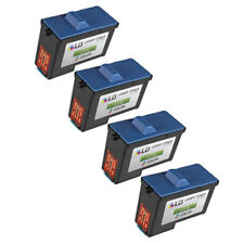 4 PACK 7Y745 Series 2 Color Printer REMAN ink Cartridge for Dell