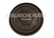 "New Pioneer 12"" TSW126M 1300W Peak Single 4-Ohm Car Stereo Subwoofer Bass Sub"