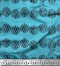 Soimoi Fabric The Flower Of Life Geometric Print Fabric by Yard - GMD-520A