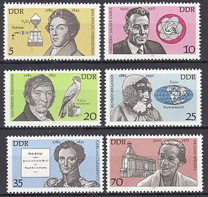 DDR 1980 Mi. Nr. 2492-2497 Postfrisch ** MNH