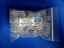 Modular Plug  RJ45 8P8C - 8 Conductor Network / Special plugs - Qty of 25