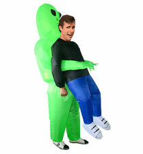 Adult Inflatable Alien Pick Me Up Costume Halloween Alien Fancy Dress Costume