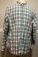 UNTUCKit Mens Dress Shirt XL Plaid Long Sleeve Multicolor