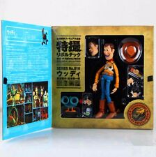 TOY STORY SCI-FI REVOLTECH WOODY NO.010 Action Figure PVC 6.3'' A75W