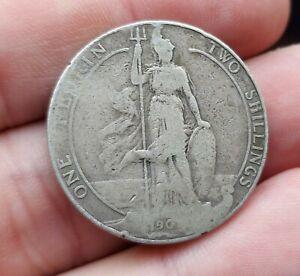 Silver Florin Edward VII