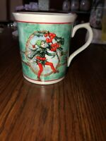 Festival Of Flower Fairies Coffee Cup Cicely Mary Barker Enesco 1989 Holly