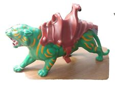 Master of the Universe Battle Cat Green Tiger Vintage He-Man Toy 1976