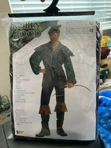 Robin Hood Thieves Adult Robin Hood Costume Standard Size New!!!
