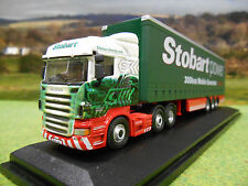 OXFORD EDDIE STOBART POWER SCANIA HIGHLINE & CURTAINSIDER TRAILER 1/76 76SHL02CS