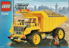 LEGO 7344 LARGE DUMP TRUCK CITY CONSTRUCTION  DISCONTINUED