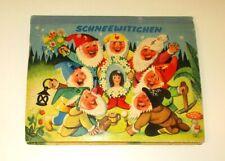 Kubasta SCHNEEWITTCHEN Pop-up-Buch Bilderbuch Artia 1966 alt 3D-Kinderbuch Buch