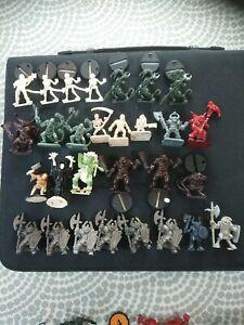 Warhammer Job lot heroquest dark world legend of zagor battlemasters miniatures
