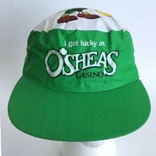 Flamingo Hilton Las Vegas O'Sheas Casino Painters Cap Hat - Irish Leprechaun