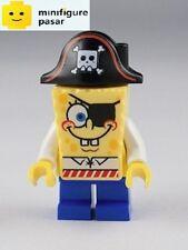 bob032 Lego SpongeBob SquarePants 3817 - SpongeBob Pirate Minifigure - New