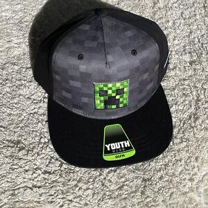 New Minecraft Youth Snapback Cap/Hat