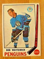 1969-70 O-Pee-Chee OPC Bob Woytowich #151 Pittsburgh Penguins