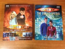 Lot of 2 Doctor Who Books - The Encyclopedia & The Inside Story