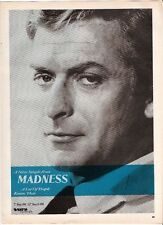 MADNESS Michael Caine (blue) UK magazine ADVERT / mini Poster 11x8""