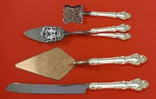 Spanish Baroque by Reed and Barton Sterling Silver Dessert Serving Set Custom