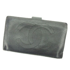 Chanel Wallet Purse Coin purse COCO Woman unisex Authentic Used T2349