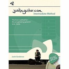 Justinguitar.com Intermediate Method  by Justin Sandercoe (Book & 2 CDs)