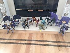 1995 Pre-Owned/Loose Kenner Gargoyles Action Figure Set of 12 Mostly Complete