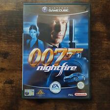 Nintendo Gamecube 007 Nightfire Complete w/ Manual