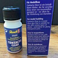 Revell 39609 Contacta CLEAR Transparent Parts Glue 20g for Plastic kits etc