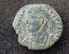 Very nice Roman coin of Julian as Augustus rare reverse uncleaned condition L39d