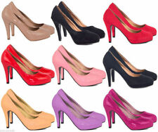Patent Leather Mary Jane Formal Heels for Women