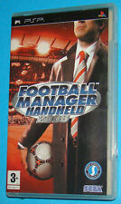 Football Manager Handheld 2008 - Sony PSP - PAL