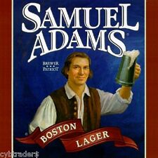 Samuel Adams Beer Label  Refrigerator / Tool Box Magnet