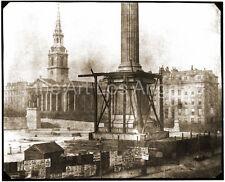 "Henry Fox Talbot Photo ""Nelson's Column, Trafalgar Square"" 1843"