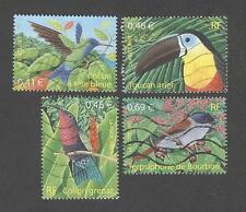 France -Timbres oblitérés - Série Oiseaux N° 3548 à 3551